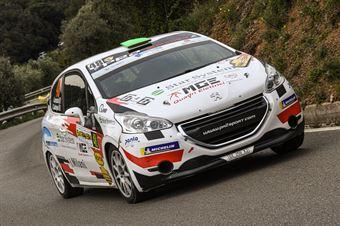 48   Alex Lorenzato, Carlo Guadagnin(Peugeot 208 #48, La Superba), CAMPIONATO ITALIANO WRC
