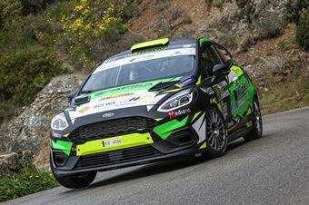 49   Vincenzo Massa, Daniel D'Alessandro(Ford Fiesta Rally4 #49), CAMPIONATO ITALIANO WRC