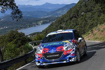 51   Sara Micheletti, Giancarla Guzzi(Peugeot 208 #51), CAMPIONATO ITALIANO WRC