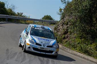 Marco Oldani, Pietro D'Agostino(Renault Clio R3C #42), CAMPIONATO ITALIANO WRC