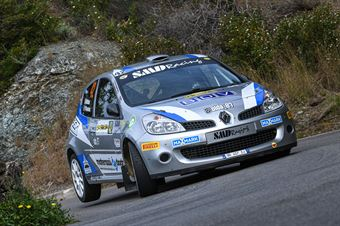 42   Marco Oldani, Pietro D'Agostino(Renault Clio R3C #42), CAMPIONATO ITALIANO WRC