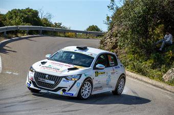Gabriele Recchiuti, Lazzarini Nicolò(Peugeot 208 #45, Hawk Racing Club), CAMPIONATO ITALIANO WRC