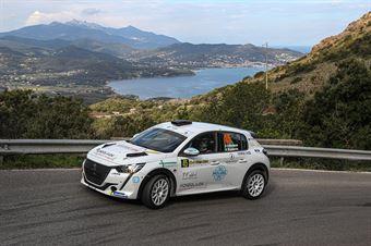 45   Gabriele Recchiuti, Lazzarini Nicolò(Peugeot 208 #45, Hawk Racing Club), CAMPIONATO ITALIANO WRC
