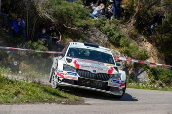 Giuseppe Testa, Giulia Zanchetta(Skoda Fabia R5 #RO Racing), CAMPIONATO ITALIANO WRC