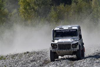 Simone Grossi   Daniele Manoni, Land Rover Defender #701, CAMPIONATO ITALIANO CROSS COUNTRY E SSV