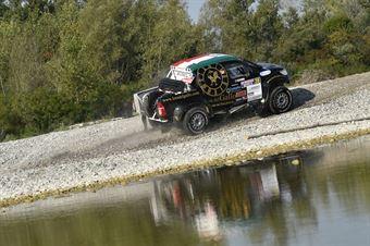 Sergio Galletti, Giulia Maroni, Toyota Hilux OverDrive T1 #208 , CAMPIONATO ITALIANO CROSS COUNTRY E SSV