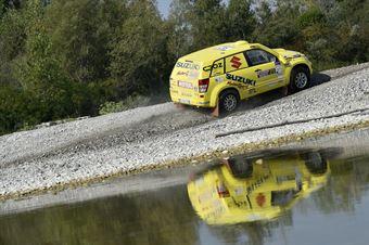 Federico Crozzolo, Paolo Pasian, Suzuki Gran Vitara T1 #215 , CAMPIONATO ITALIANO CROSS COUNTRY E SSV