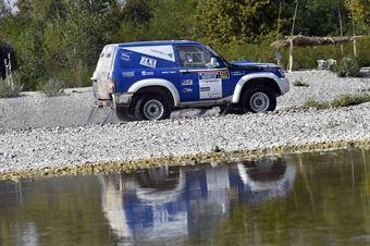 Paolo Semeraro, Giugitta Vigano', Nissan Patrol T1 #503, CAMPIONATO ITALIANO CROSS COUNTRY E SSV
