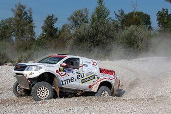 Magdalena Zajac, Michal Ogerek, Toyota Land Cruiser TH #705 , CAMPIONATO ITALIANO CROSS COUNTRY E SSV