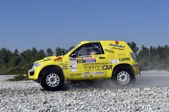 Lorenzo Codecà, Mauro Toffoli, Suzuki Gran Vitara T1 #209, CAMPIONATO ITALIANO CROSS COUNTRY E SSV