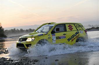 Federico Crozzolo, Paolo Pasian, Suzuki Gran Vitara T1 #215, CAMPIONATO ITALIANO CROSS COUNTRY E SSV