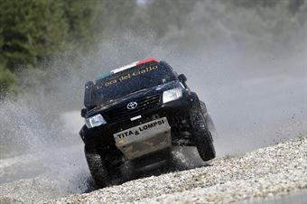 Sergio Galletti, Giulia Maroni, Toyota Hilux OverDrive T1 #208, CAMPIONATO ITALIANO CROSS COUNTRY E SSV