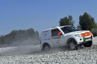 Alessandro Trivini, Marco Trivini, Mitsubishi Pajero T2 #604, CAMPIONATO ITALIANO CROSS COUNTRY E SSV