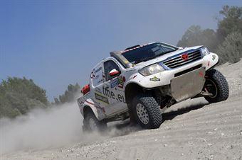 Magdalena Zajac, Michal Ogerek, Toyota Land Cruiser TH #705, CAMPIONATO ITALIANO CROSS COUNTRY E SSV