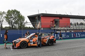 Starting grid race 2, TCR ITALY TOURING CAR CHAMPIONSHIP