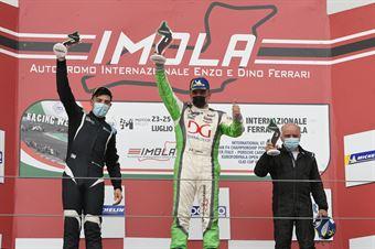 Podium DSG race 2, TCR ITALY TOURING CAR CHAMPIONSHIP