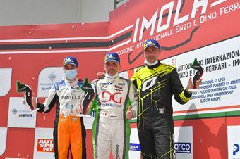 Podium TCR DSG race 1, TCR ITALY TOURING CAR CHAMPIONSHIP