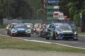 Start race 2, TCR ITALY TOURING CAR CHAMPIONSHIP