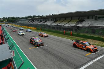 Starting grid, TCR ITALY TOURING CAR CHAMPIONSHIP