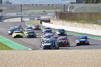 PARTENZA GARA1, TCR ITALY TOURING CAR CHAMPIONSHIP