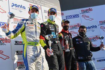 Podium race 2 TCR Italy, TCR ITALY TOURING CAR CHAMPIONSHIP