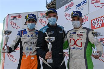 Podium TCR Italy DSG race 1, TCR ITALY TOURING CAR CHAMPIONSHIP